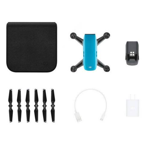 DJI SPARK Fly More Camera Drone Combo Kit|12MP|HD 1080p|CP.PT.000907|Sky Blue Thumbnail 8