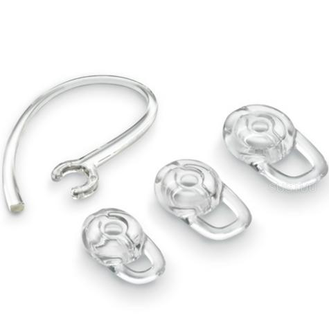 Plantronics Spare Gel Earloop/ Bud Kit | Size: S/ M/ L | For 925 975 M100 MX100 M25 M55BT Headset Thumbnail 1