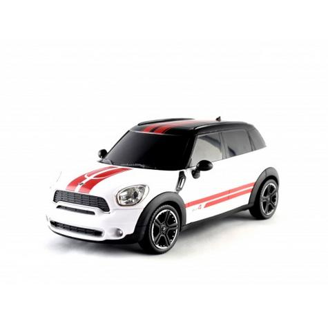 Amazing Remote Control Model Kids Toy Car | Mini Countryman 1:24 Scale | White | New Thumbnail 3