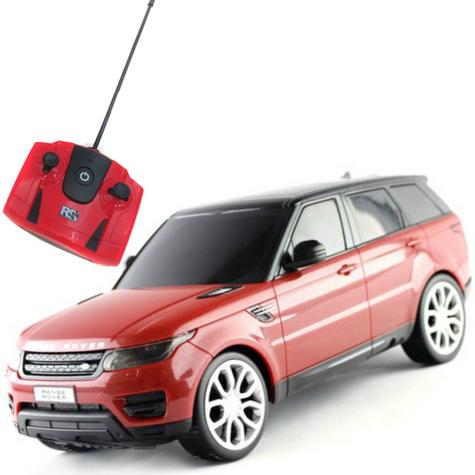 Remote Control ToyCar | Kids Model With Lights - 2014 Range Rover sport | 1:24 Scale | Red Thumbnail 2