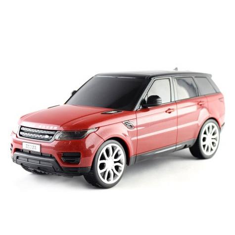 Remote Control ToyCar | Kids Model With Lights - 2014 Range Rover sport | 1:24 Scale | Red Thumbnail 7
