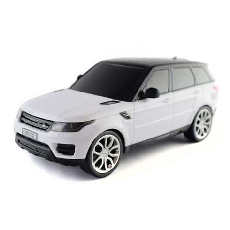 Remote Control Toy Car | Kids Model With Lights - 2014 Range Rover sport | 1:24 Scale | White | New Thumbnail 7