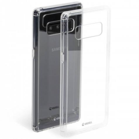 Krusell Kivik Transparent Back Cover | Protective Clear Case | Samsung Galaxy Note 8 Thumbnail 2