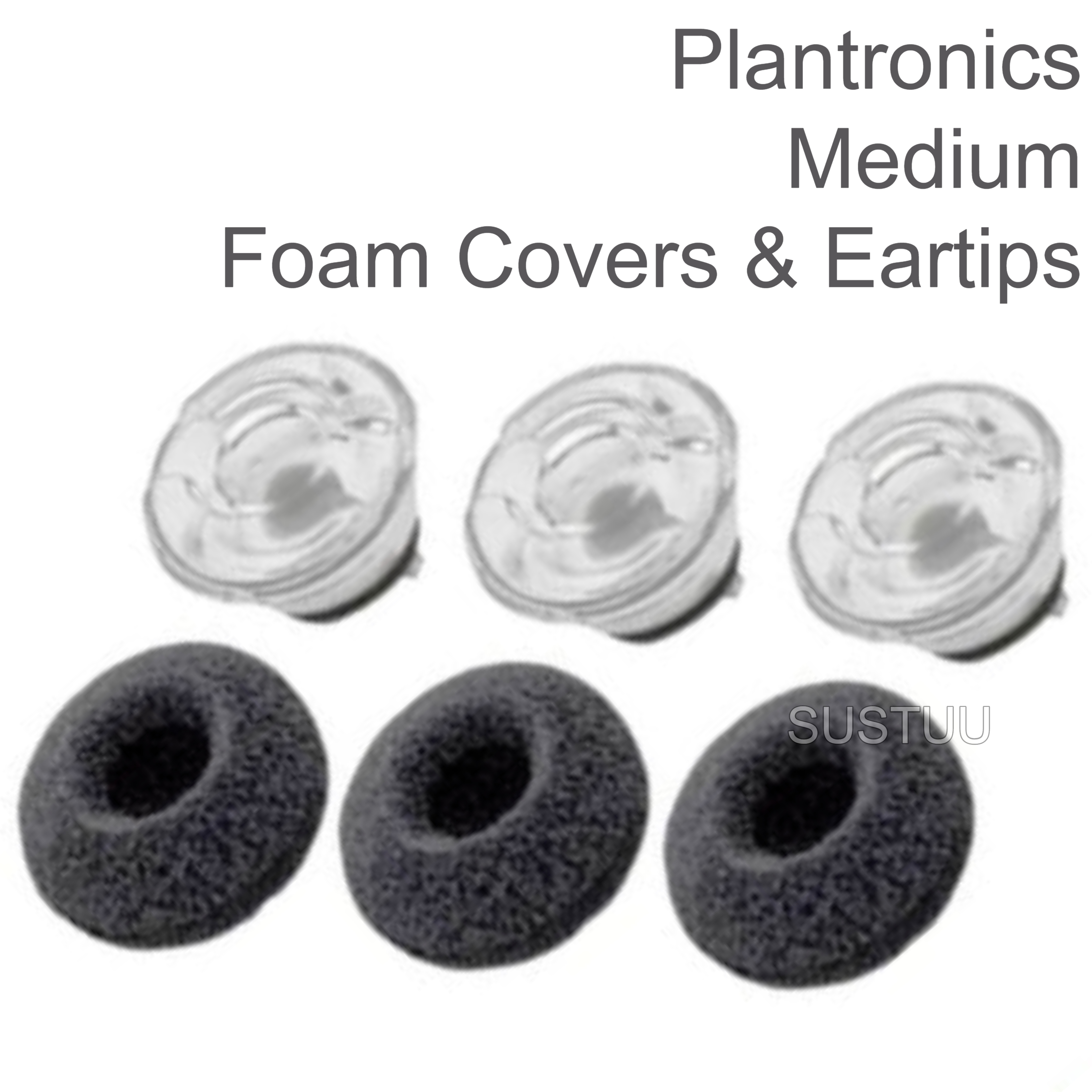 size 40 61c27 7dcea Plantronics Replacement Spare Eartips Kit | For Voyager Legend Bluetooth  Headset | Medium