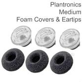 Plantronics Replacement Spare Eartips Kit | For Voyager Legend Bluetooth Headset | Medium