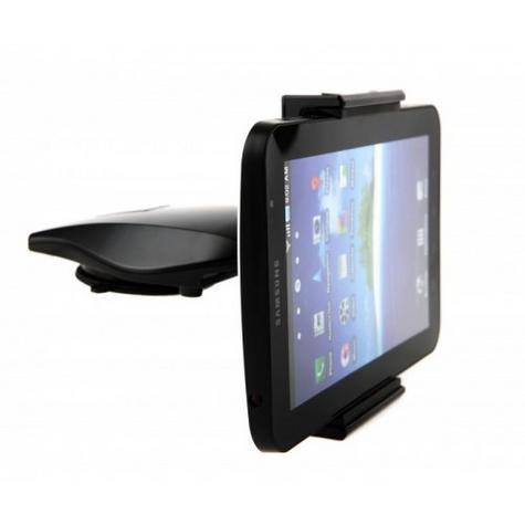 Universal CD Slot Tablet Mount | Spring Holder/Cradle | 11-17cm Devices | 360°Rotation Thumbnail 4