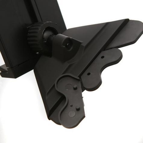 Universal CD Slot Tablet Mount | Spring Holder/Cradle | 11-17cm Devices | 360°Rotation Thumbnail 5