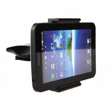 Universal CD Slot Tablet Mount | Spring Holder/Cradle | 11-17cm Devices | 360°Rotation Thumbnail 6