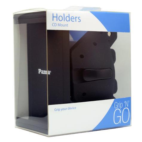 Universal CD Slot Tablet Mount | Spring Holder/Cradle | 11-17cm Devices | 360°Rotation Thumbnail 7