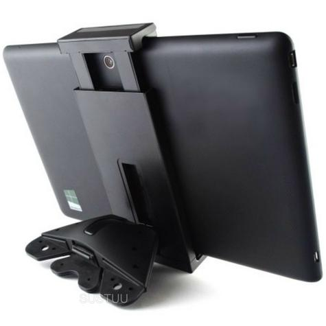 Universal CD Mount | Spring Holder/Cradle | 14.5-19.5 cm Devices | Tablets Large Phones Thumbnail 1