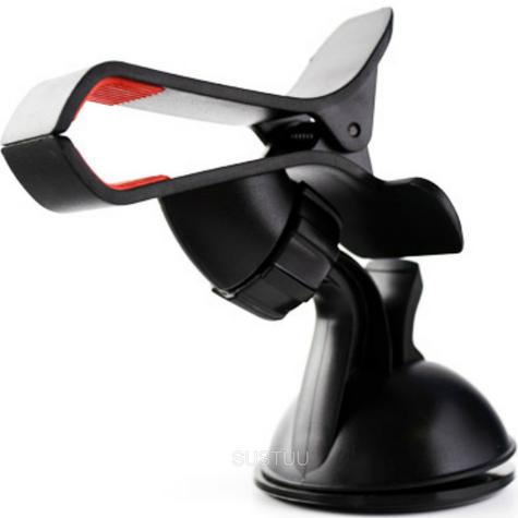 Universal In Car Clip Holder | Windscreen Suction Mount | Mobilephones iPod GPS SatNav Thumbnail 1