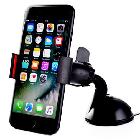 Universal In Car Clip Holder | Windscreen Suction Mount | Mobilephones iPod GPS SatNav Thumbnail 2