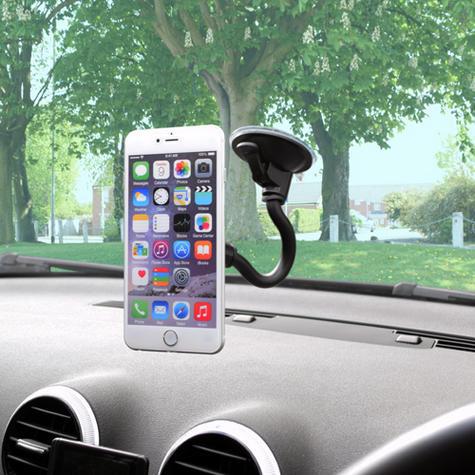 Universal In Car Magnetic Holder | Windscreen Suction Mount | For Smartphone - GPS/ SatNav Thumbnail 4