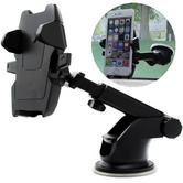 Universal In Car Dash Mount | Windscreen Holder + Long Neck | For Mobile Phone-GPS / SatNav