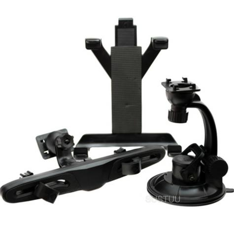 Universal in Car holder | Window & Headrest Mounting | Devices upto 250 mm | Tablets | New Thumbnail 1