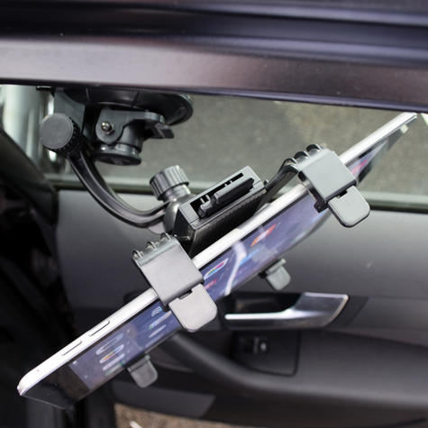 Universal in Car holder | Window & Headrest Mounting | Devices upto 250 mm | Tablets | New Thumbnail 5