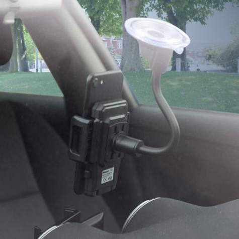 Universal In Car Windscreen Mount | Holder / Cradle | For Mobile Phone - iPod - GPS / SatNav Thumbnail 3