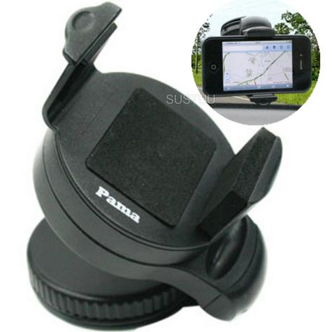 Universal In Car Windscreen Dash Mount | Holder / Cradle | For Mobile Phone - iPhone - GPS / SatNav Thumbnail 1
