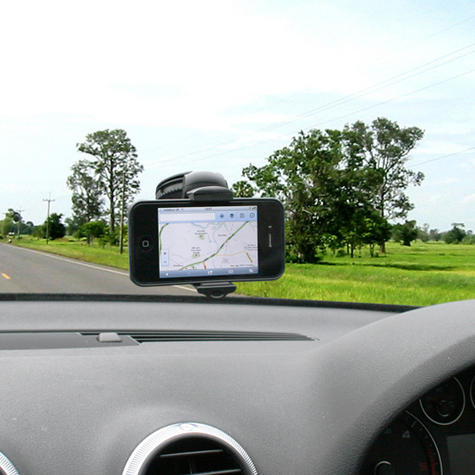 Universal In Car Windscreen Dash Mount | Holder / Cradle | For Mobile Phone - iPhone - GPS / SatNav Thumbnail 3