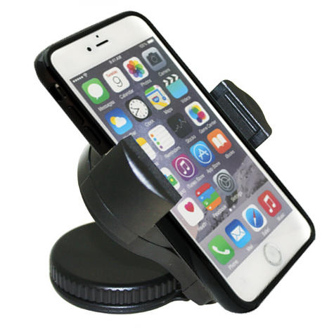 Universal In Car Windscreen Dash Mount | Holder / Cradle | For Mobile Phone - iPhone - GPS / SatNav Thumbnail 4
