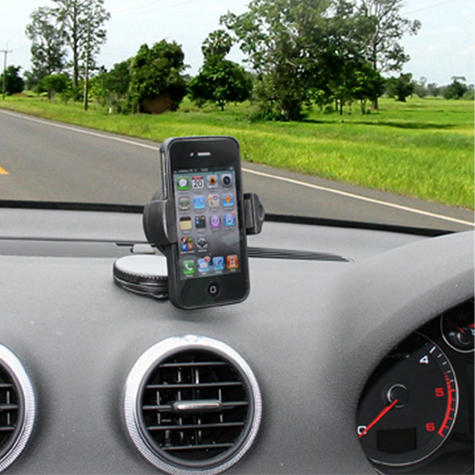 Universal In Car Windscreen Dash Mount | Holder / Cradle | For Mobile Phone - iPhone - GPS / SatNav Thumbnail 5