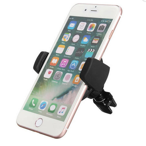 Universal In Car Qi Wireless Mobile Phone Charger + Vent Holder | Mount / Cradle | Black Thumbnail 6