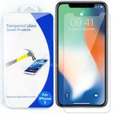 Tempered Glass Screen Protector | Ultra Clear Anti Scratch Guard | 0.3 mm | For iPhone X