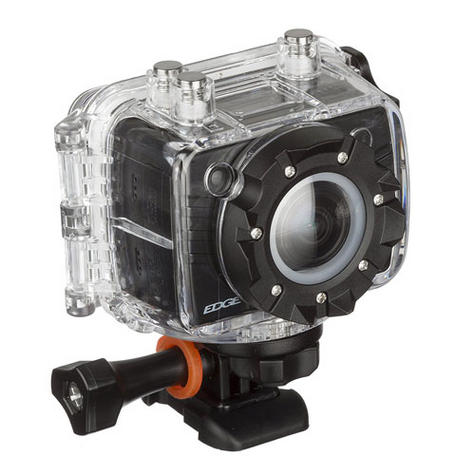 Kitvision Edge HD10 Action Camera with Mounting   Built-in Microphone   1080p Video Thumbnail 2