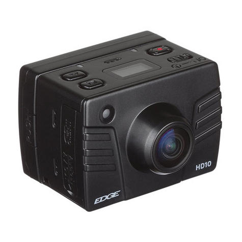 Kitvision Edge HD10 Action Camera with Mounting   Built-in Microphone   1080p Video Thumbnail 4