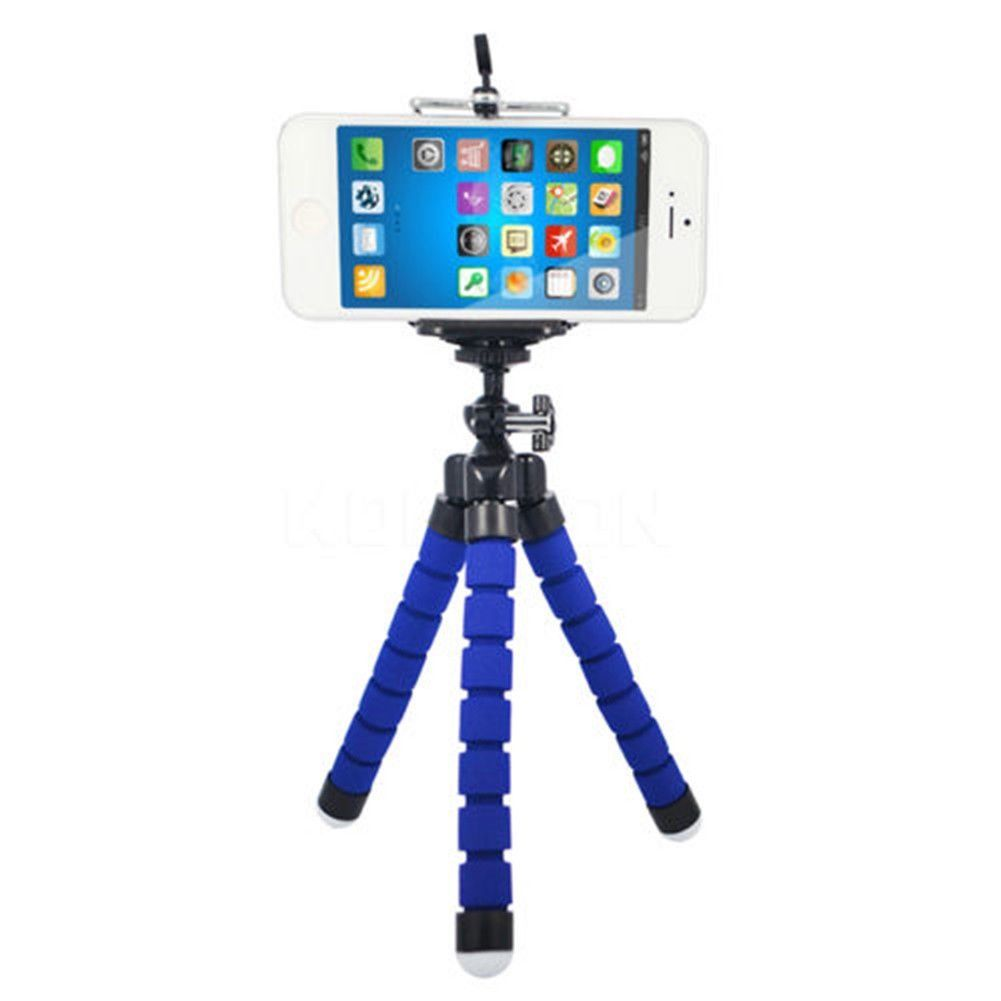 Mini Flexible Tripod Stand | Lightweight Holder / Cradle | For Mobile Phone Up To 85 mm