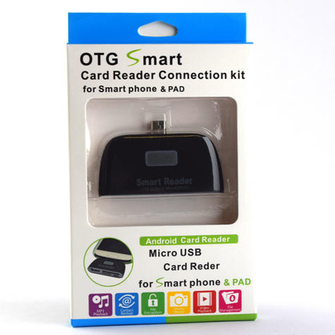 OTG Connection Kit | Adapter with USB Port | SD Card Reader | For Mobile Phones / Smart Phones Thumbnail 6