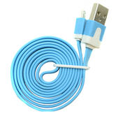 Charge & Sync Data Cable?Tangle Free Flat Micro USB Lead   For Mobile Phone-Tablet