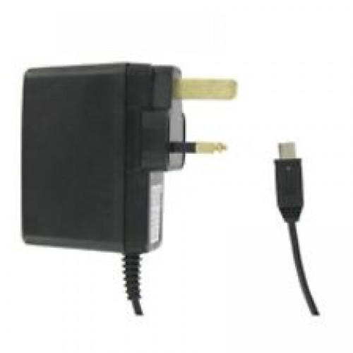UK Mains Travel Charger?MiniUSB Cable | Lightweight Adapter | FireProof | SPV C500 | New