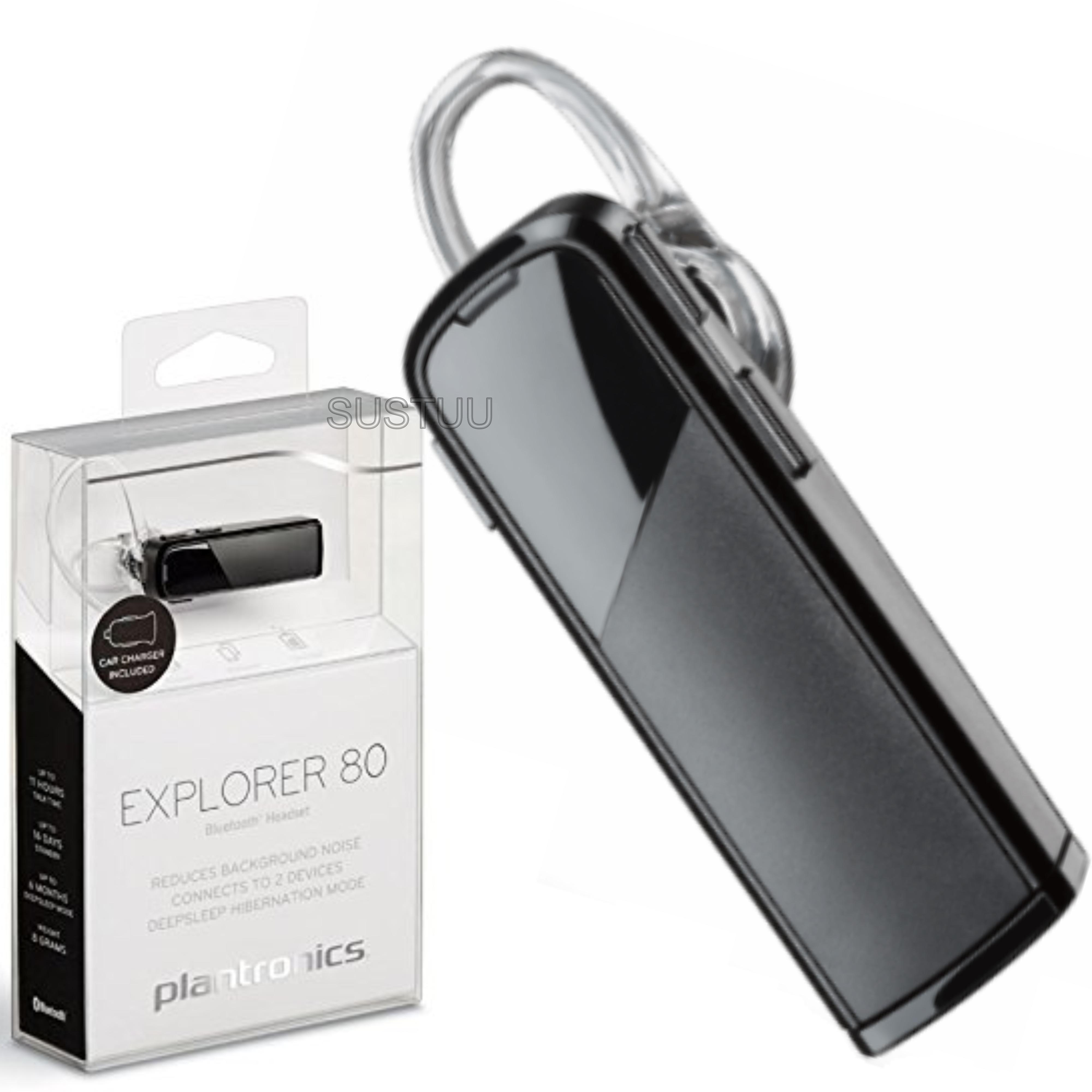 b80d194d18e Plantronics Explorer 80 Wireless Bluetooth Headset | Mobile Phone  Hands-free Calls | Sustuu