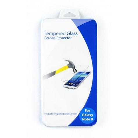Tempered Glass Screen Protector | Clear Anti Scratch Guard | For Samsung Galaxy Note 8 Thumbnail 2