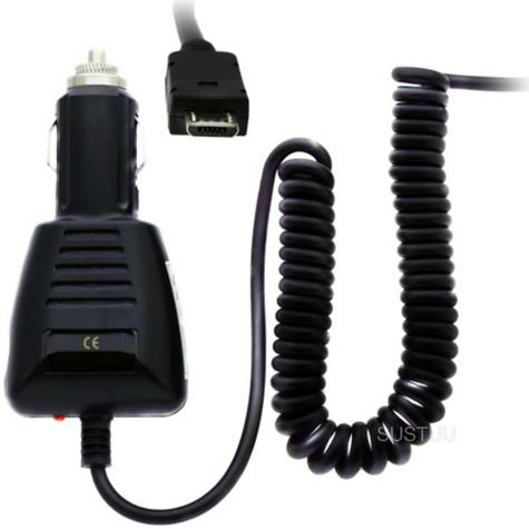 In Car Mobile Phone Charger | Micro USB Plug | Lightweight | Memory Flex Cable | 12/24V Thumbnail 1