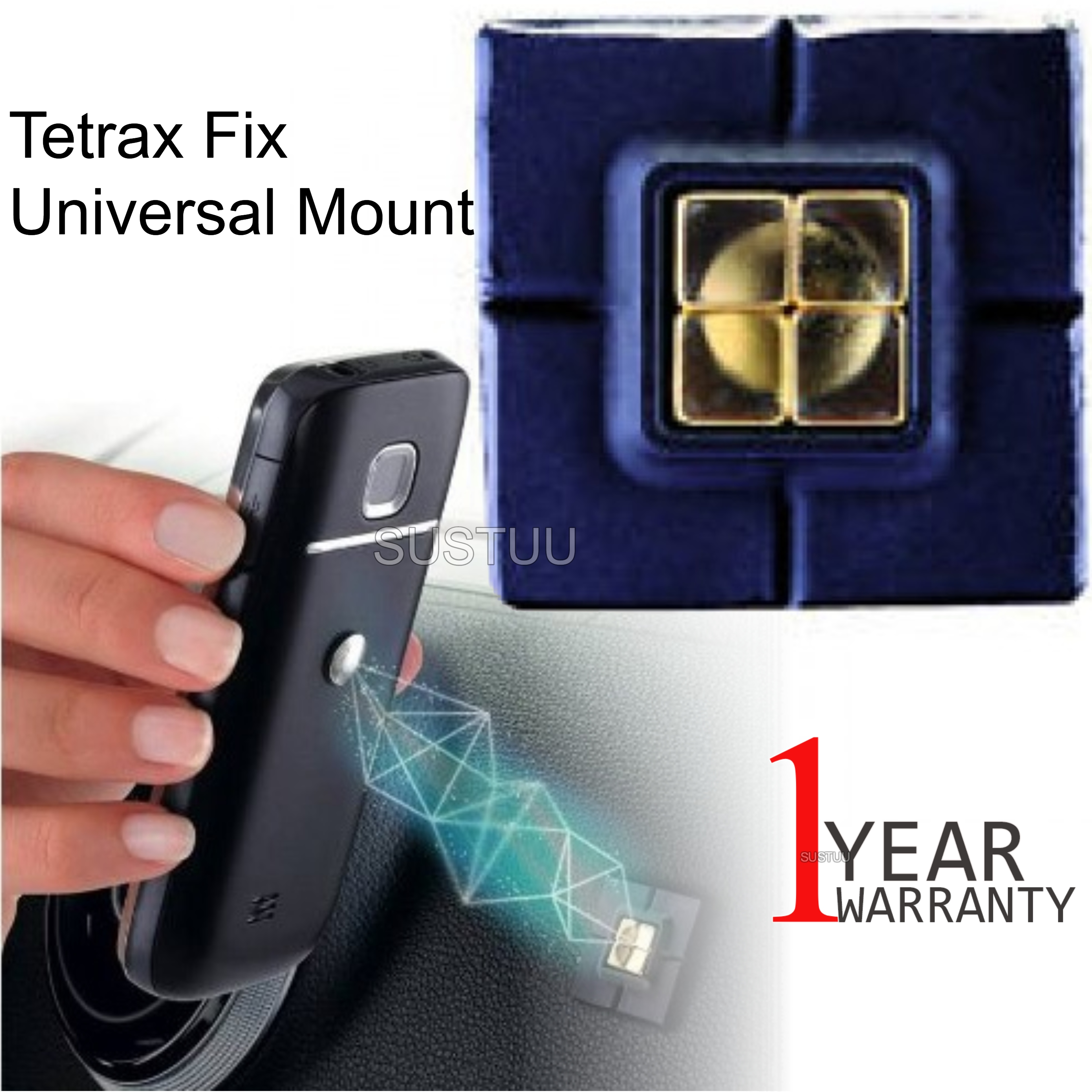 Tetrax Fix Magnetic Car Dash Holder | Universal Mobile Mount | For iPhone-GPS/SatNav