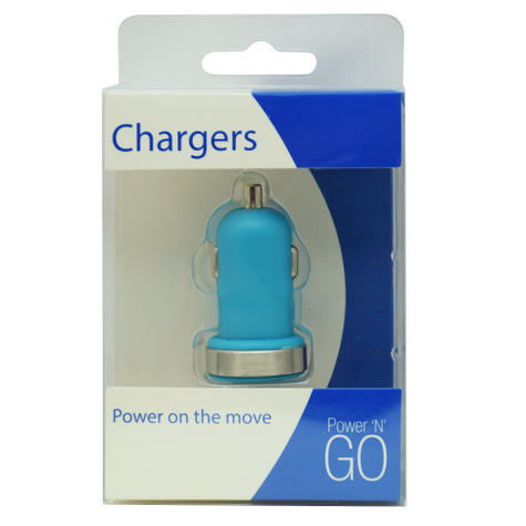 Universal in Car Charger | Adapter With Twin/Dual USB Port | 2 Amp | LED Power Indicator Thumbnail 2