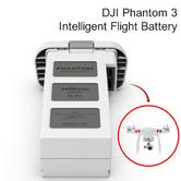 DJI Phantom 3 Intelligent 15.2V 4480mAh LiPo 4S Flight Battery - CP.PT.000397
