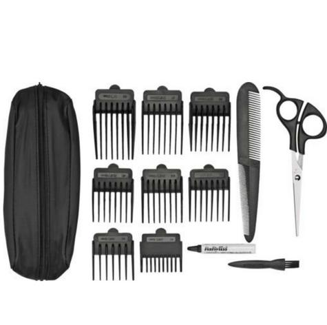 Babyliss New 7498CU Men's Powerlight Pro 15 Piece Cordless Hair Clipper Kit Set Thumbnail 3