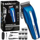 Babyliss New 7498CU Men's Powerlight Pro 15 Piece Cordless Hair Clipper Kit Set