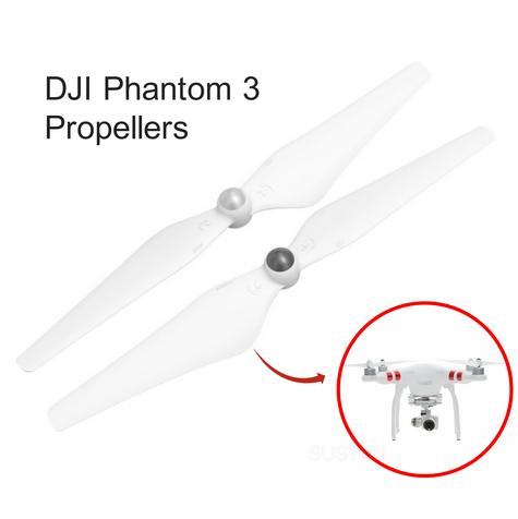 DJI Phantom 3 Propellers|Self Tightening|Lightweight Simple Rotate|CP.PT.000195 Thumbnail 1