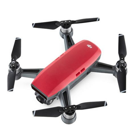 DJI SPARK Fly More Camera Drone Combo Kit UK|12MP|HD 1080p|CP.PT.000906|Lava Red Thumbnail 3