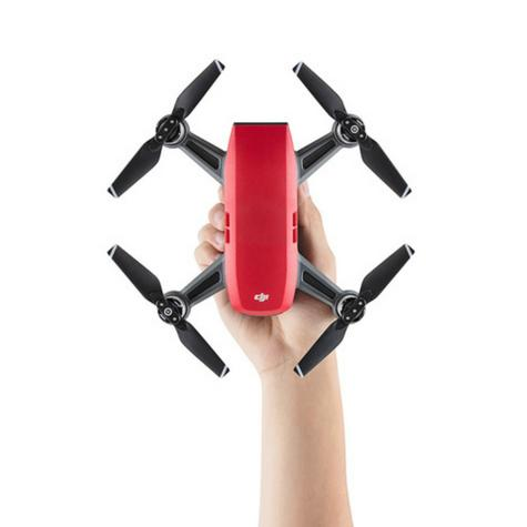 DJI SPARK Fly More Camera Drone Combo Kit UK|12MP|HD 1080p|CP.PT.000906|Lava Red Thumbnail 7