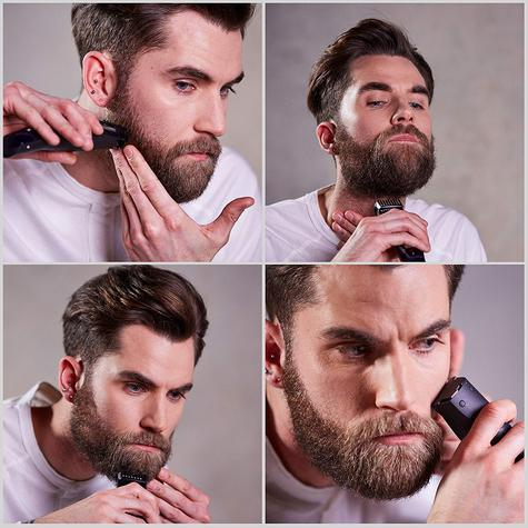 BaByliss 7897U Super Beard Lithium Beard Trimmer | Wet & Dry Shaver | Black | NEW Thumbnail 4