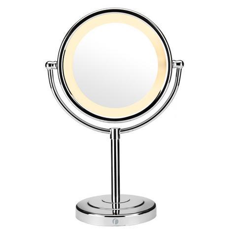 BaByliss 360° Reflections Luxury Illuminated Mirror Hair & Make-up Chrome 9429BU Thumbnail 2