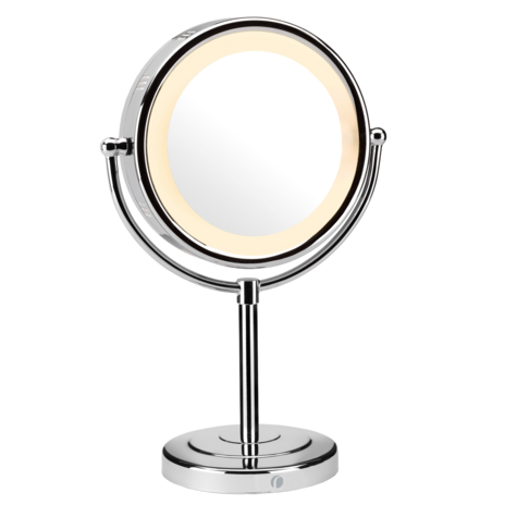BaByliss 360° Reflections Luxury Illuminated Mirror|Hair & Make-up|Chrome 9429BU Thumbnail 3