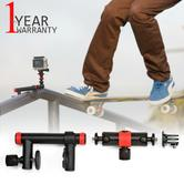 Joby Action Clamp & Locking Arm For Go Pro / Action Camera|360° Rotation|Blk-Red
