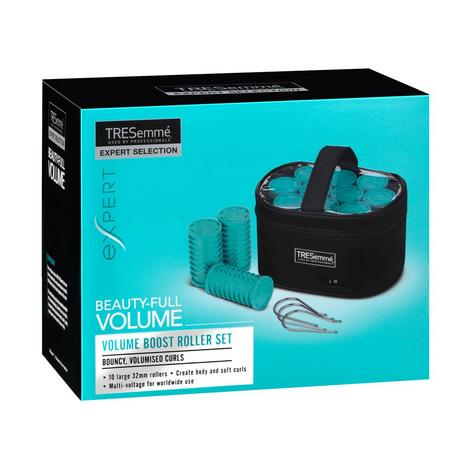 TRESemme Ceramic Lightweight Volume Roller Set| Dual voltage| On/off switch 3039BU Thumbnail 2