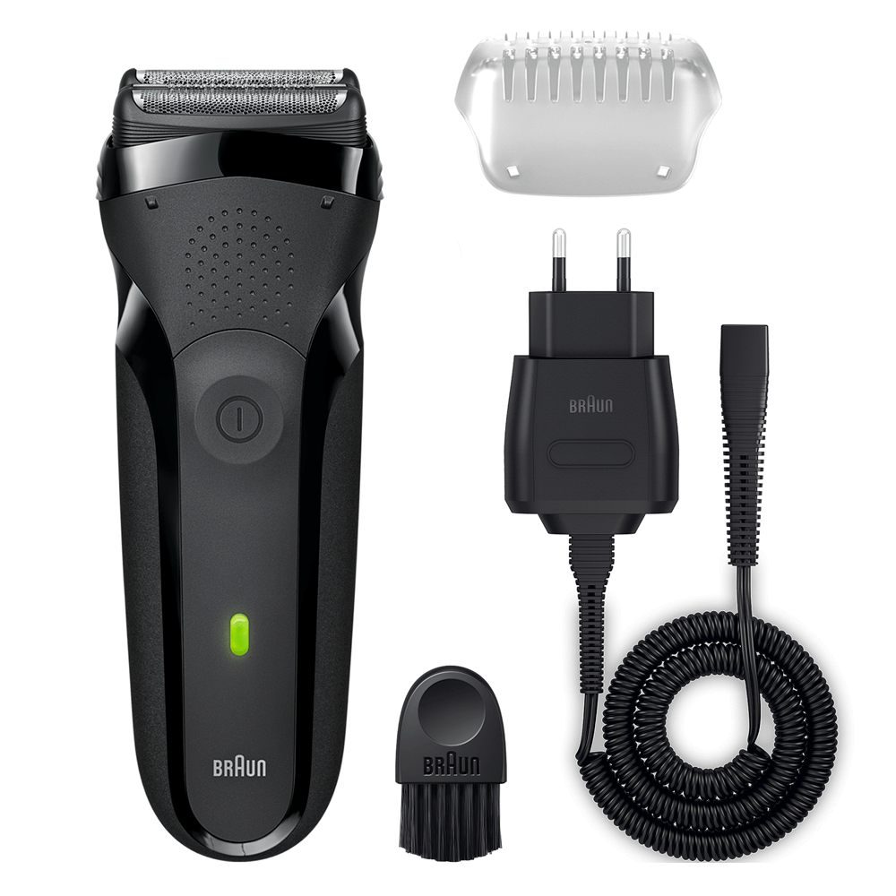 Braun Series3 300s Men Electric Clean Shaver|Rechargeable|Waterproof|Black|NEW
